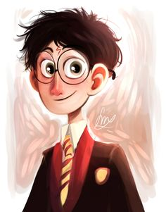 With the Harry Potter exhibition that has just opened today, here in Belgium, I thought it would be neat to post these bad boys ! I got to draw them for a thing at school, which explains the signing...