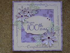 100th Birthday | docrafts.com