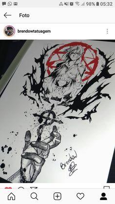 Mini Tattoos, Body Art Tattoos, Sleeve Tattoos, Fullmetal Alchemist Brotherhood, Manga Anime, Anime Art, Arm Tats, Nisekoi, Cute Art Styles