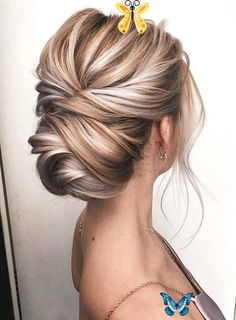 23 schöne geknotete blonde Updos für Frauen 2018. Suchen Sie nach  <br> Formal Hairstyles For Short Hair, Modern Hairstyles, Braided Hairstyles, Cool Hairstyles, Hairstyle Ideas, Hair Ideas, Updos Hairstyle, Bridal Hairstyle, Black Hairstyles
