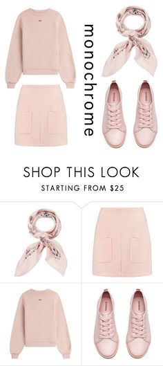 """Pink"" by dreamhigh426 on Polyvore featuring Manipuri, See by Chloé, Off-White and H&M"
