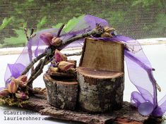 My fairy houses are creations from the woodlands with moss twigs lichen bark and branches glued and nailed in place. Fairies form our natural world and I am infatuated with this side of life. About my fairy houses:All my houses are unique and custom cr…