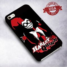 Awesome Harley Quinn grin - For iPhone 4/ 4S/ 5/ 5S/ 5SE/ 5C/ 6/ 6S/ 6 PLUS/ 6S PLUS/ 7/ 7 PLUS Case And Samsung Galaxy Case