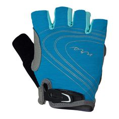 NRS Women's Axiom Gloves give you maximum blister protection for paddling and rowing, plus UPF 20 protection for warm days under the sun.
