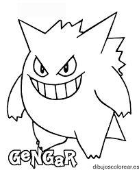 Dibujos de Pokemon para Imprimir y Colorear  pokemon para