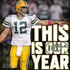 Aaron Rodgers and the Green Bay Packers! Packers Funny, Packers Baby, Go Packers, Packers Football, Football Baby, Football Team, Greenbay Packers, Football Season, Football Stuff