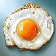 Incredible Hyperrealistic #Food Paintings by Dutch Artist #Tjalf #Sparnaay
