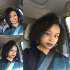 5 years natural hair - just past bra strap length - wash n go!