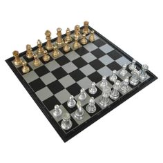 commodore china set in black white and gold | Ub magnetic gold silver black and white folding chess board plastic ...