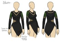 Avengers Loki's shirt- I'd wear black leggings with it!