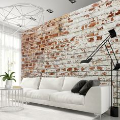 Photo Wallpaper Wall Murals Non Woven Modern Art Optical Illusion Brick Stone Effect Wall Decals Bedroom Decor Home Design Wall Art 236 Brick Pattern Wallpaper, Brick Effect Wallpaper, 3d Wallpaper Mural, Photo Wallpaper, Brick Interior, Interior Design, Wall Design, House Design, 3d Design