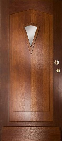 """Buitendeur, """"WK1396"""", van Weekamp Deuren in de categorie Merbau voordeuren uit de serie """"Retro"""""""