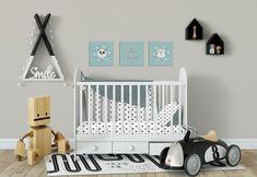 Poster Babykamer Pastel : Meisjeskamer poster kinderkamer poster zwart wit nursery