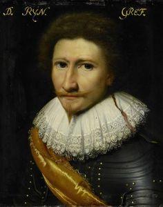 Portret van Johann Conrad von Salm, Wild- en Rijngraaf van Dhaun