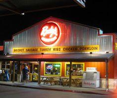 CAVEMEN GO: Rudy's Bar-B-Q