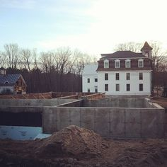 The ground floor of the #distillery will be done in no time #tamworthdistilling Art In The Age, Tamworth, Distillery, Ground Floor, Flooring, Mansions, House Styles, Home Decor, Decoration Home