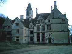 abandoned halfway through building and one of the most haunted houses in england.  woodchester mansion.