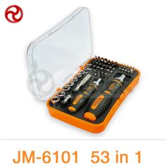 """41.24$  Watch here - http://ali77g.shopchina.info/1/go.php?t=32675357468 - """"JAKEMY 53/43 in 1 Screwdriver Set 180"""""""" Adjustable Magnetic Ratchet Laptop Computer Household Auto Car Mechanic Repair Tools Kit""""  #aliexpresschina"""