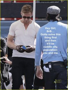 These hey girls with Ryan Gosling are so funny, I'd totally melt if someone used this line haha