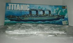 Revell 1/570 Scale RMS Titanic Plastic Assembly Kit #Revell
