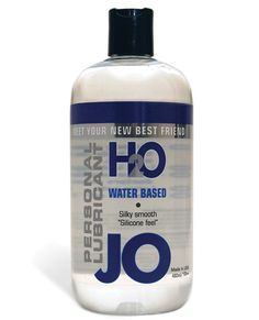 System Jo H2o Lubricant - 16 Oz - System JO H20 Waterbased Personal Lubricant has all the benefits of the original System JO, similar in feel and viscosity, yet does not contain oil, wax, or silicone. It is 100% latex safe and manufactured under strict U.S. FDA guidelines. It is never sticky or tacky and enhanced with Vitamin E. It is also long lasting, fragrance free, and washes off easily with soap and water. System JO H20 enhances your sense of pleasure like no other water-based…