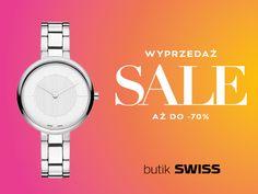 Letnia wyprzedaż w butikach SWISS! Zapraszamy do Aleja Bielany Wrocław!
