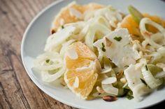 Fennel, orange and flaked pecorino salad #Coutet #Barsac #Sauternes #Wine #Vin