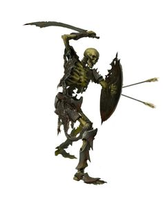 skeleton warrior with shield and sword Fantasy Races, Fantasy Rpg, Medieval Fantasy, Fantasy Artwork, Dark Fantasy, Fantasy Monster, Monster Art, Fantasy Creatures, Mythical Creatures