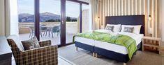 Zimmer mit Balkon und wunderbarem Ausblick