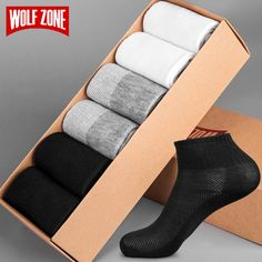 Brand Spring and Summer Breathable Socks Men Business Fashion Casual Ankle Mens Black White Dress Short Socks 6 Pairs Business Casual Men, Business Fashion, Men Casual, Fashion Socks, Mens Fashion, Fashion Edgy, Fashion Rings, Street Fashion, Short Socks