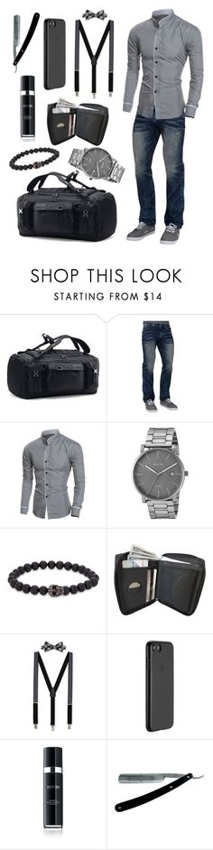 """""""Swanky Guy"""" by morellemomo ❤ liked on Polyvore featuring Under Armour, Affliction, Skagen, Simon Carter, Countess Mara, Just Mobile, 111Skin, men's fashion and menswear"""
