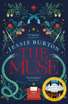 Sunday Times Number One Bestseller, it's no wonder Richard and Judy have chosen The Muse by Jessie Burton for the Spring 2017 Book Club. Good Books, Books To Read, My Books, Richard And Judy Books, Book Club Questions, Muse, Thing 1, Galleries In London, Historical Fiction