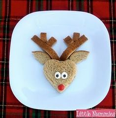 Fun for the kids' lunches at Christmas time. Awesome idea !!!