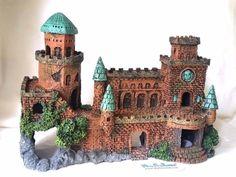 CaNew] Castle Fortress Center Pi Fish Tank Aquarium Ornament Decoration - CA08, in [Pet Supplies, Fish & Aquariums, Decorations | eBay