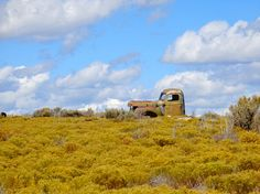Old truck art vintage rusty truck of long ago  by NewMexicoMtnGirl