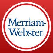 Merriam-Webster Dictionary #free #gratis #dictionary #dicionario #thesaurus #sinonimos #iphone #ipad #ipodtouch
