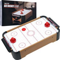 Trademark Commerce 15-3151 Gamest Mini Table Top Air Hockey W/ Accessories