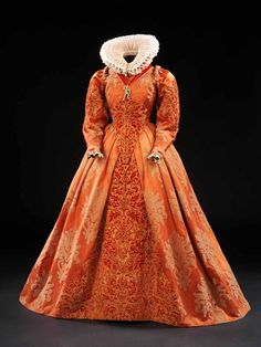 Costume designed by Alexandra Byrne for Cate Blanchett in Elizabeth.