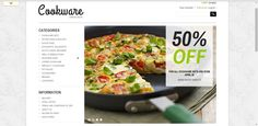 Cookware PrestaShop Theme 1.5