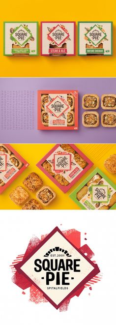Square Pie is a British Favorite That Doesn't Cut Corners — The Dieline | Packaging & Branding Design & Innovation News