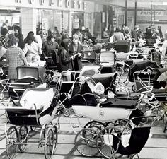 In the days when you left your baby outside the shops (Woolworths)