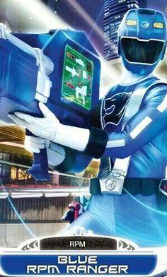 Blue RPM Power Ranger