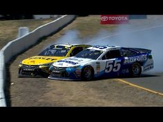 Ragan, Edwards collide and slam the wall