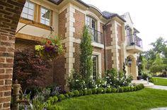 jardines de casas de lujo | inspiración de diseño de interiores