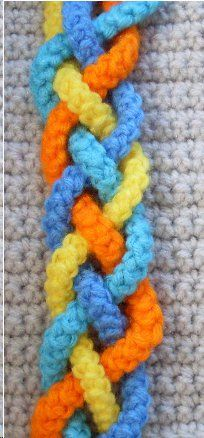 Craftybegonia's Pursenality Shoppe: Tessa, a beautiful braid to embellish your next crochet bag or to make it into a gorgeous purse strap!