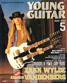 Zakk Wylde Young | young guitar may 1994 zakk wylde used zakk wylde on cover…