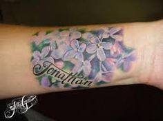 Imagini pentru lilac tattoo