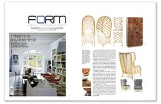 Ginger & Jagger | Form Magazine | October 2014 Highlight: Becomes Me | Armchair #formmagazine