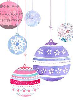 Christmas ball balls