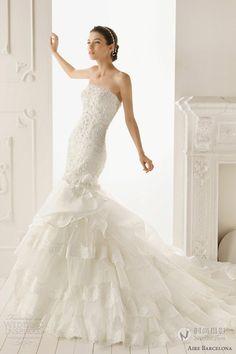 https://flic.kr/p/AS3vwT | Trouwjurken | Wedding Dress, Wedding Dress Lace, Wedding Dress Strapless | www.popo-shoes.nl